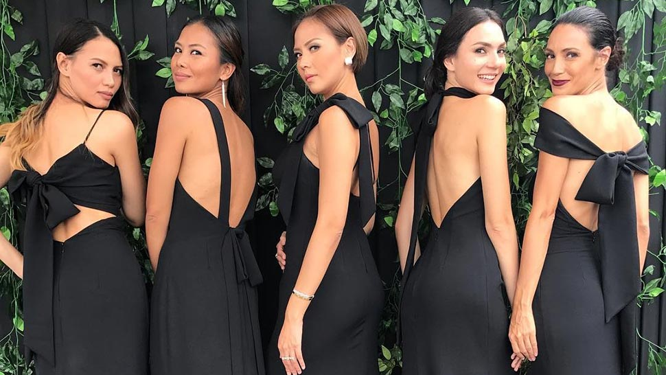 LOTD: This Wedding Is Proof That Black Bridesmaid Dresses Are Chic