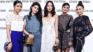 All The Outfits We Loved At Louis Vuitton's Launch In Solaire