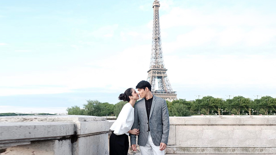 Maxene Magalona And Rob Mananquil's Picture-perfect Ootds In Europe