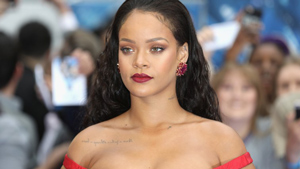 Lotd: Rihanna Stuns In A Scarlet Couture Gown On The Red Carpet