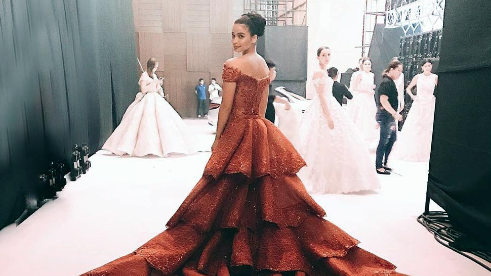 Anne Curtis Will Tempt You to Wear Red on Your Wedding Day