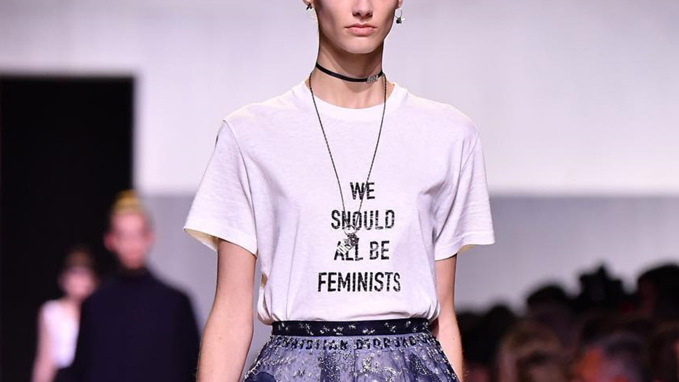 Here's How The Slogan Tee Became A Fashion Statement
