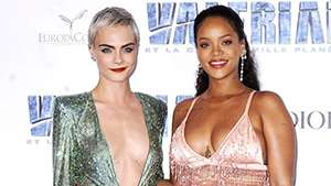 Our Favorite Cara And Rihanna Looks From The 'valerian' Red Carpet