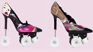 Saint Laurent Unveils Roller Skate Stilettos
