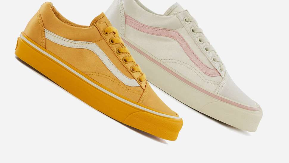 Vans' Old Skool Sneakers Just Got A Satin Makeover