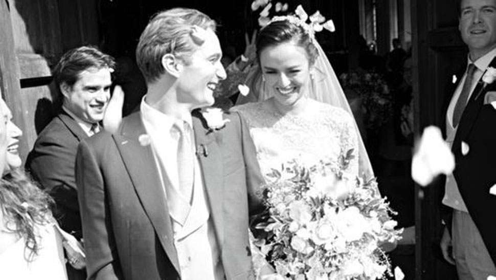 Vogue Australia Features Georgina Wilson's Classic British Wedding