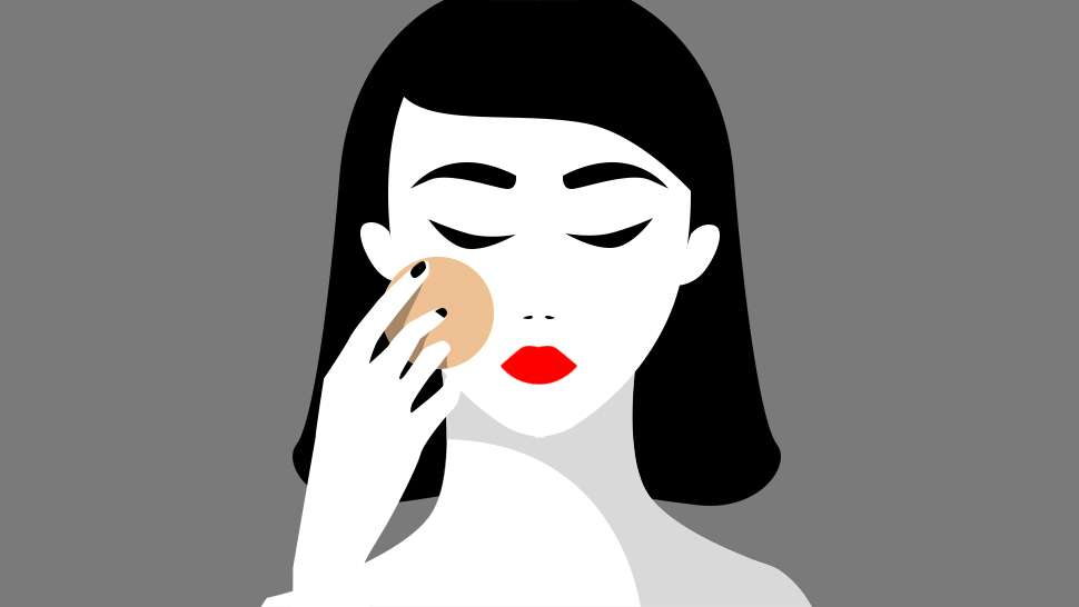How to Avoid Looking Dry and Flat When Applying Face Powder