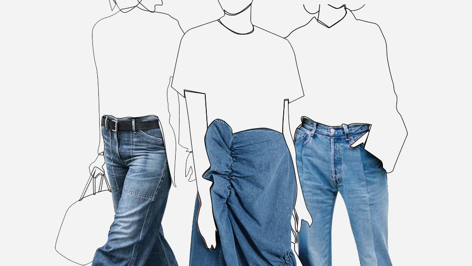 How To Wear Denim To The Office Like A Fashion Girl