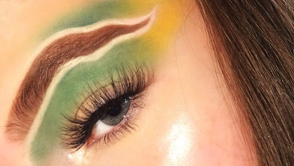 You Have to Check Out This New Crazy Brow Trend