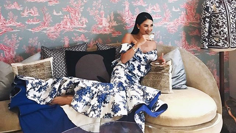 How To Get The Look Of Heart Evangelista's Posh Walk-in Closet