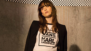 Here's Your First Look At Vans' Exciting Collab With Karl Lagerfeld