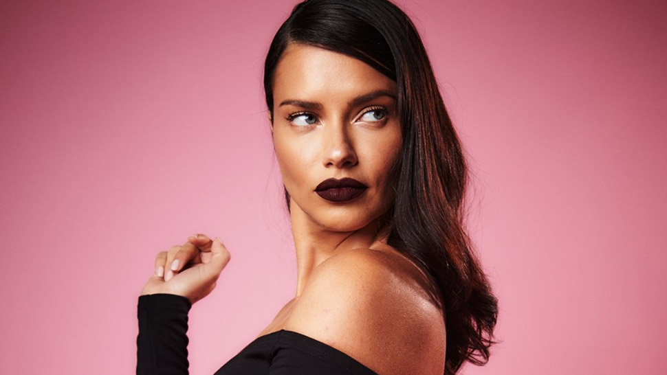 Lotd: How To Wear A Dark Lip Like A Supermodel