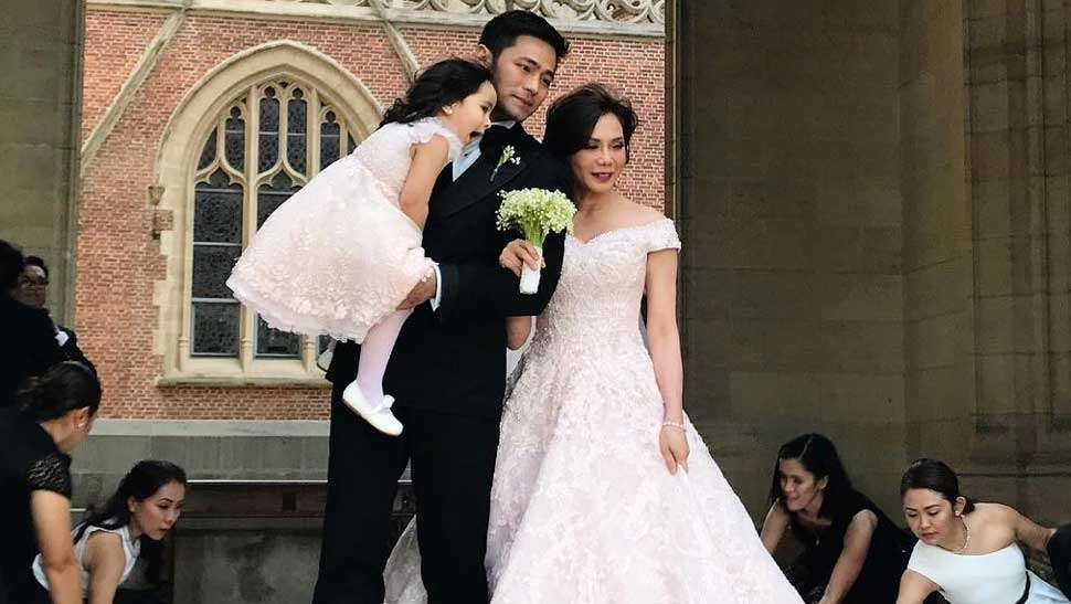 All the Gorgeous Details About Vicki Belo's Michael Cinco Wedding Gown