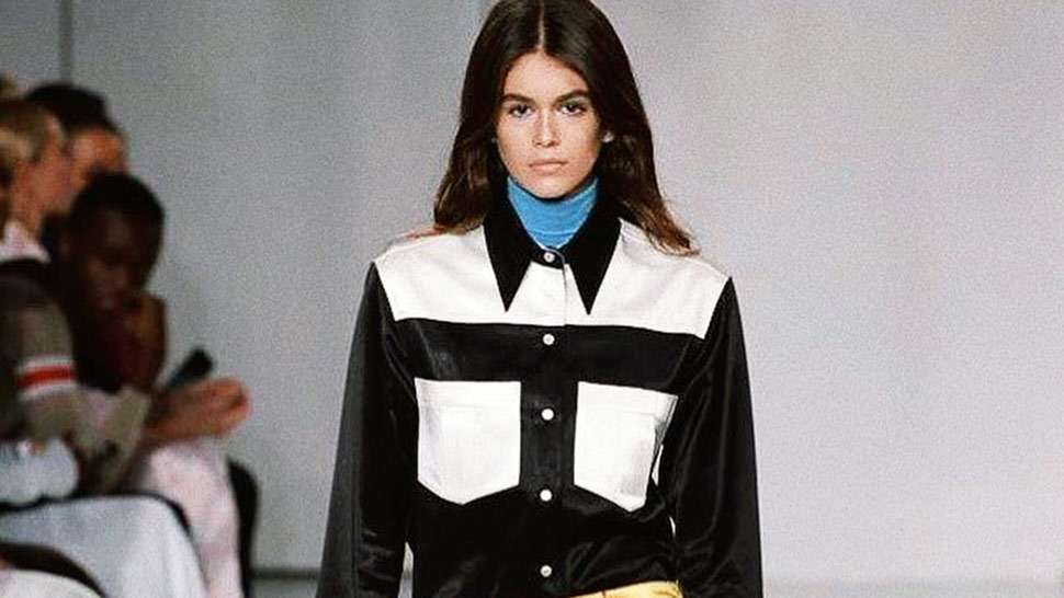 Kaia Gerber Just Walked Her First Ever Runway Show!