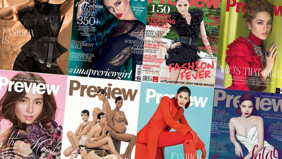 A 10-Year Look at Preview's September Covers