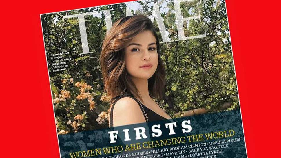 Selena Gomez Fronts Time Magazine's Women Who Are Changing The World Issue