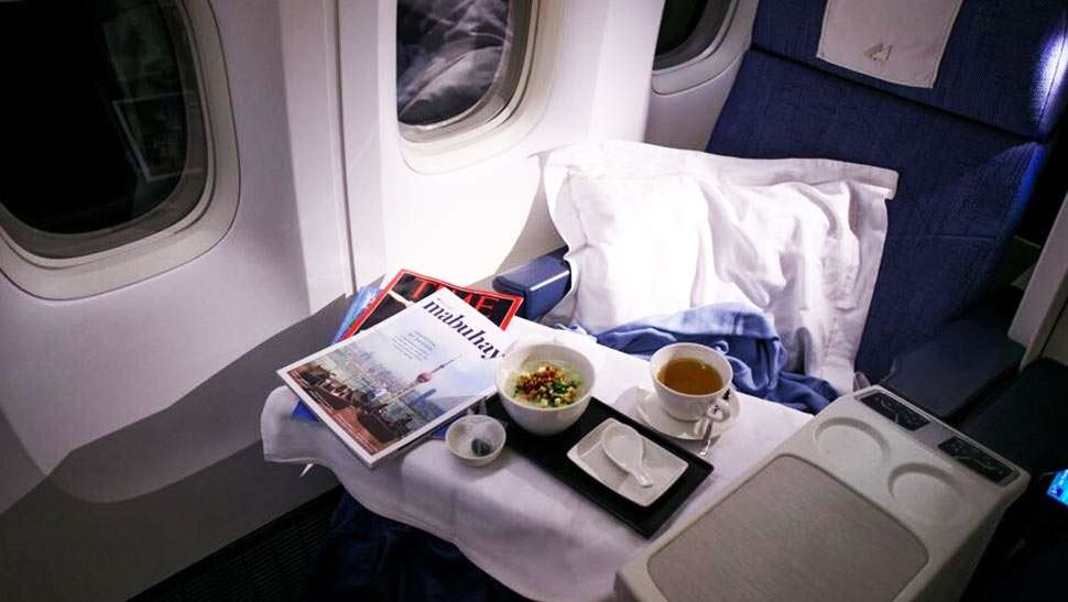 Here's What It's Like To Fly Business Class