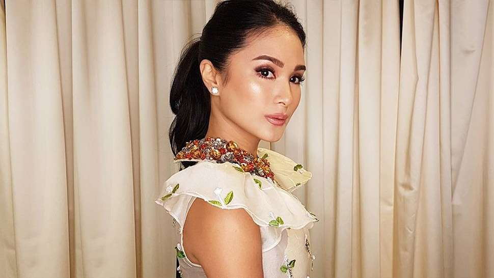 Lotd: Heart Evangelista Looked Stunning In This Modern Filipiniana