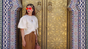 5 Breezy Travel Outfits We're Dying To Steal From Pauline Juan