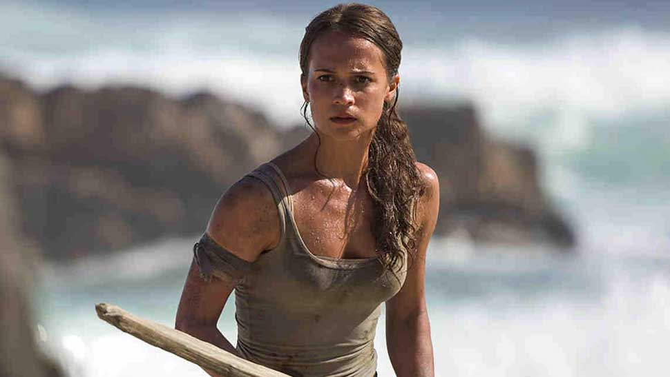 Here's What Lara Croft Looks Like When Not In Her Signature Tank Top
