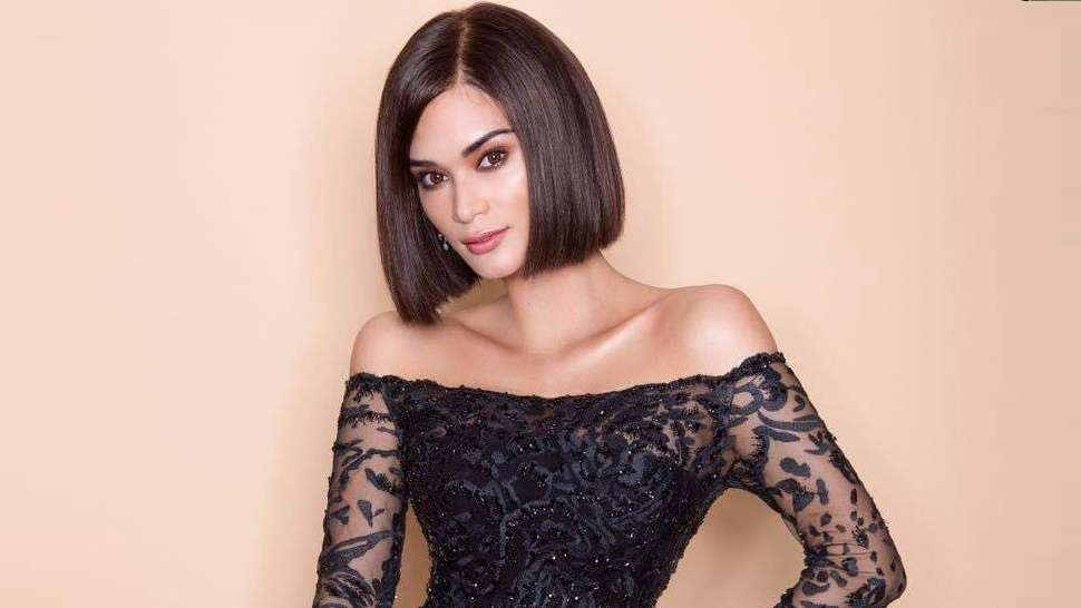 Pia Wurtzbach Surprises At The Star Magic Ball In A Sultry New Style