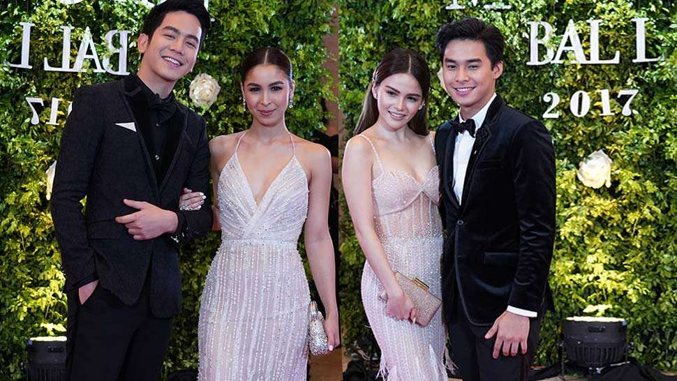 Julia, Janella, Elisse, And Erich Went Twinning On The Red Carpet