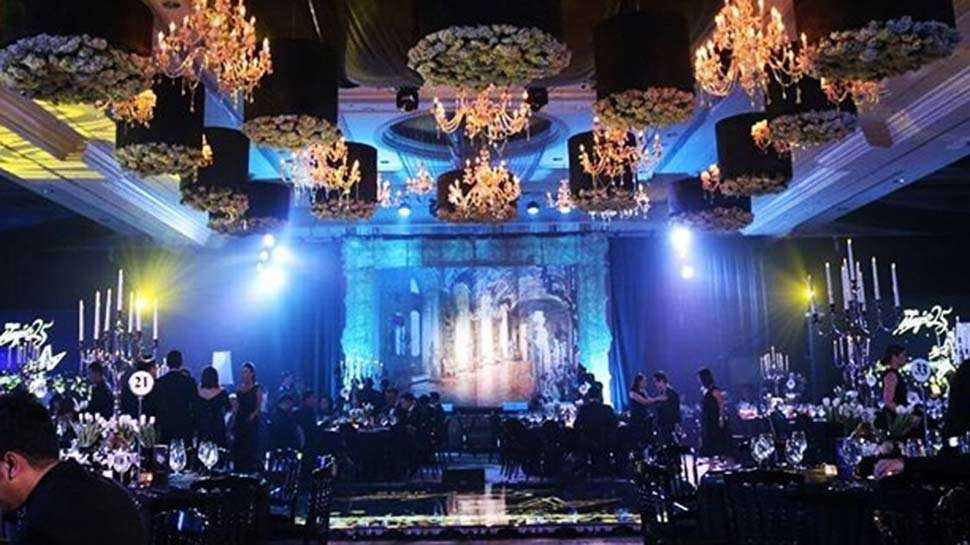 Flowers and Gold Details Take Center Stage at the 2017 Star Magic Ball