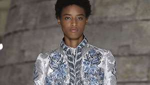 Meet The First Black Model To Ever Open A Louis Vuitton Show