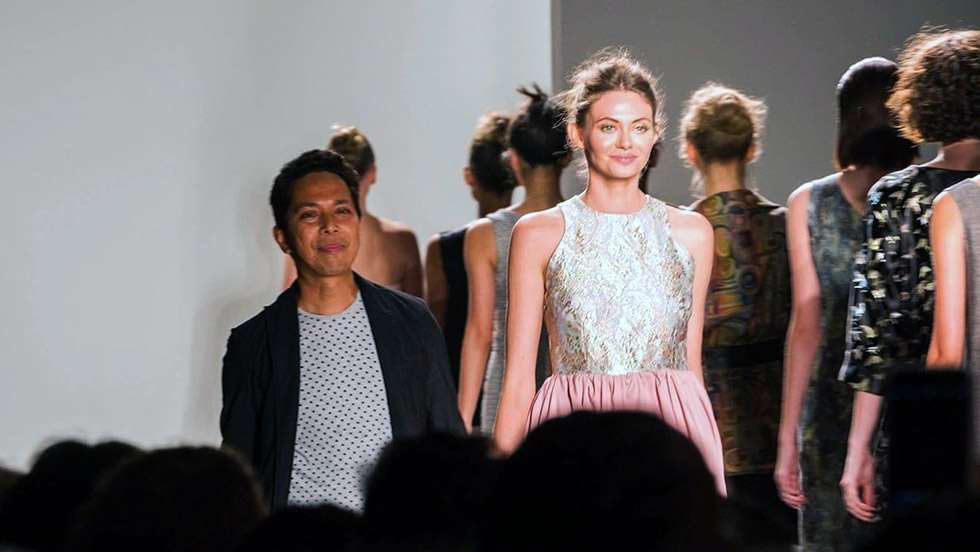 Here's How A Filipino-american Designer Landed A Spot In Nyfw