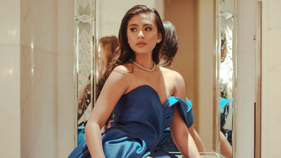 Lotd: Gabbi Garcia Stuns In Something Blue At The Red Charity Gala