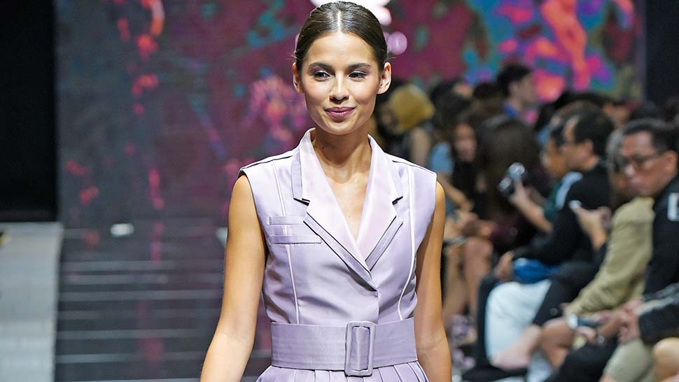 Jasmine Curtis-smith Proves That Petite Girls Can Be Runway-ready