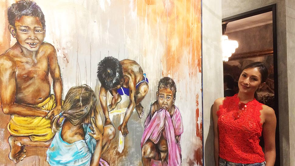Solenn Heussaff Shares The Stories Behind Her Paintings