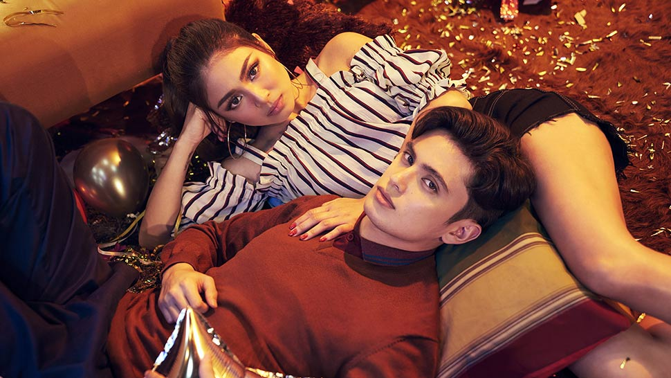 Nadine Lustre and James Reid Are the New Faces of folded&hung