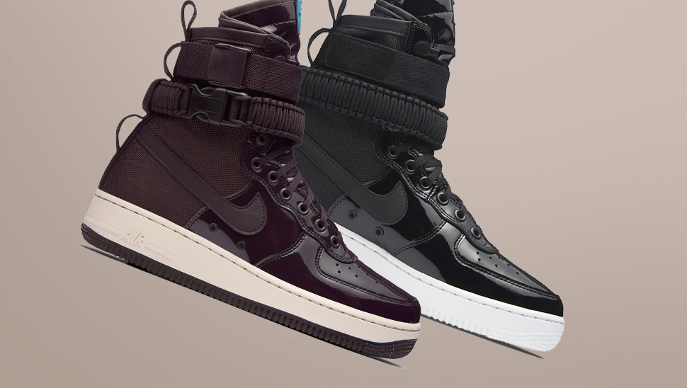 Nike Just Dropped The Sickest Pairs Of Patent Sneakers