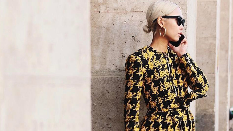10 Ways To Wear Houndstooth Print Like A Street Style Star