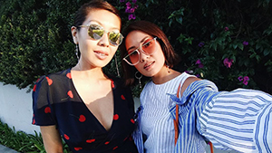 Lotd: Liz And Laureen Uy Show Us How Stylish Sisters Do Twinning