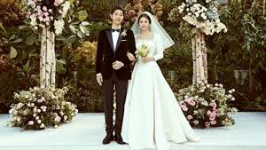 Here's How Much Song Joong Ki And Song Hye Kyo Spent On Their Wedding
