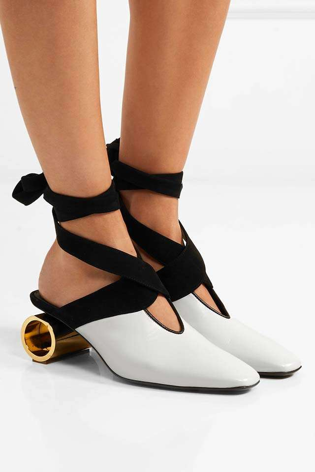 Charles Keith Ball Heel Shoes