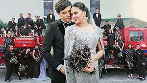 You Have To See Chynna Ortaleza And Kean Cipriano's All-black Wedding