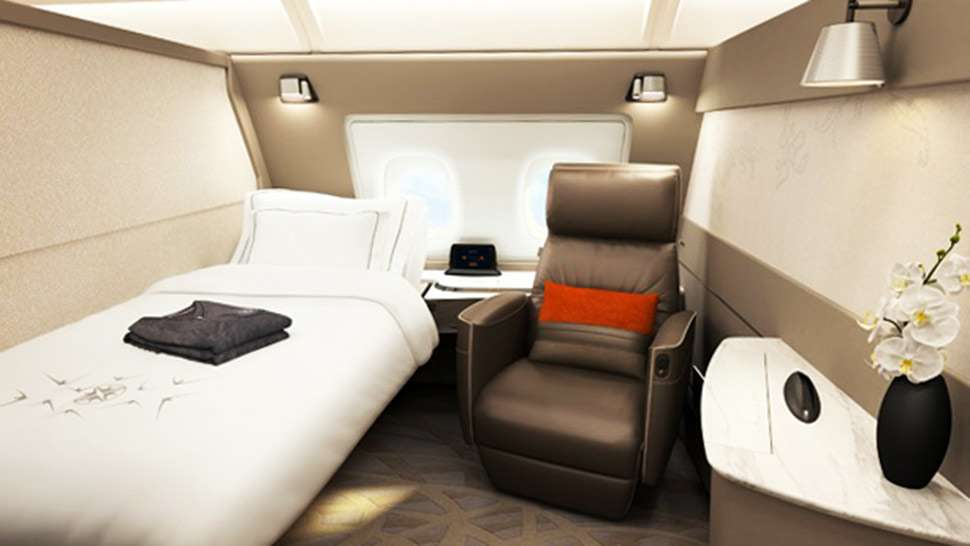 Singapore Airlines' New Plane Looks Like a Five-Star Hotel