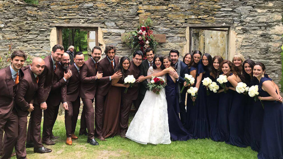 Scenes at the Wedding of Anne Curtis and Erwan Heussaff