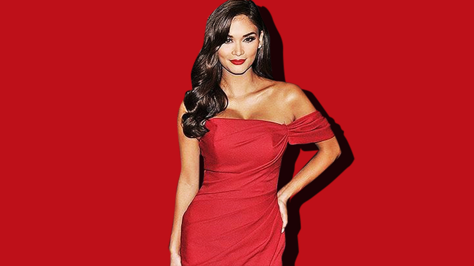 Pia Wurtzbach Is A Stunning Lady In Red For Miss Universe 2017