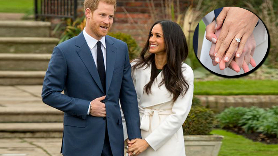 Meghan Markle's Engagement Ring Was Designed By Prince Harry Himself
