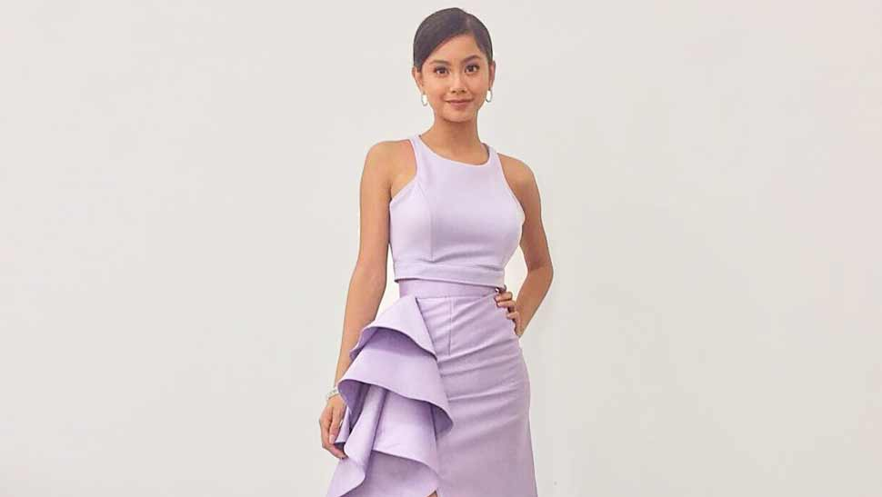 LOTD: Ylona Garcia Is Proof That Morenas Can Also Wear Pastels