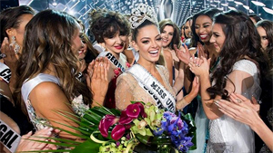 What Did Miss Universe 2017 Win?