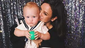 Georgina Wilson And Her Son Were Twinning At His Sailor-themed Party