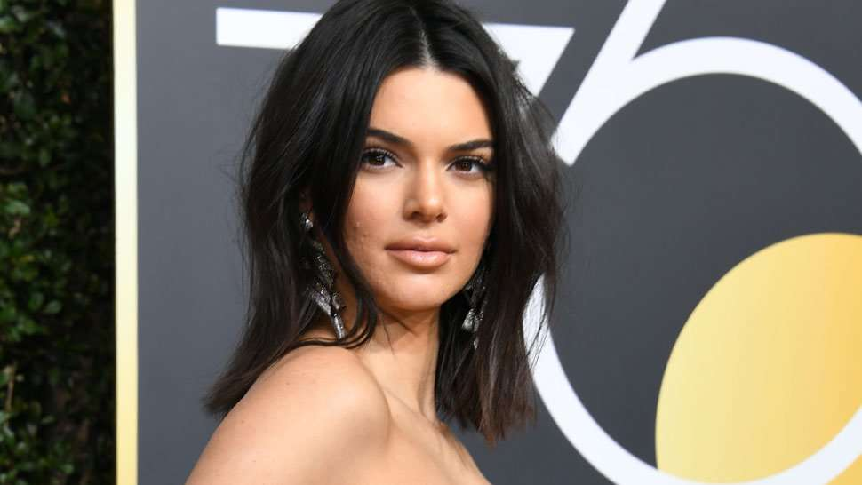 Acne Shaming Is Dead And Kendall's Golden Globes Moment Is Proof