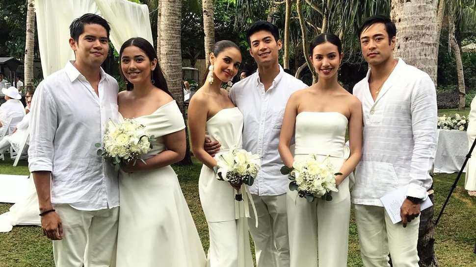 All The Stylish Attendees At Maxene Magalona And Rob Mananquil's Beach Wedding