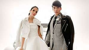 Maxene Magalona And Rob Mananquil Went Twinning For Their Church Wedding