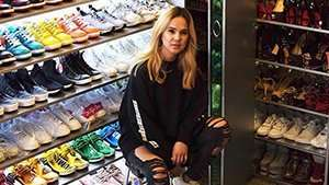 You Have To See This Preview Girl's Massive Sneaker Collection